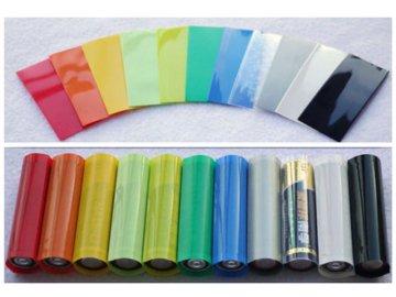 PVC teplem smršťovací obal na 18650 baterie 5ks balení