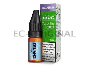 ostruzina blackberry dekang classic line 7890