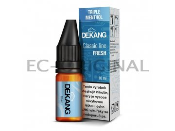 trojity mentol triple menthol dekang classic line 7898