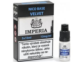 IMPERIA - 5x10ml - Nico Base Velvet (80VG/20PG) 12mg