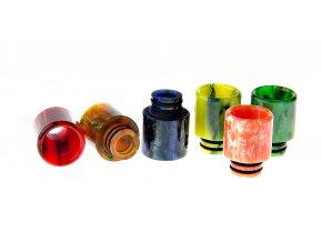 Resin Drip Tip 17mm 510 mix