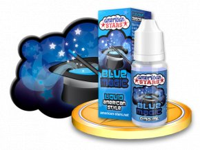E-liquid American Stars 10ml - Blue Magic