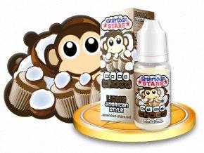 E-liquid American Stars 10ml - Coco Choco