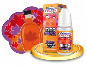 E-liquid American Stars 10ml - Miss Maple
