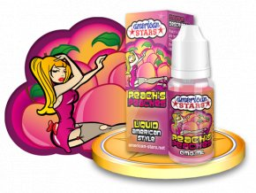 E-liquid American Stars 10ml - Peach's Peaches