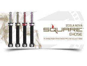 Elektronická vodní dýmka / E-Shisha: Square E-Hose 2.0