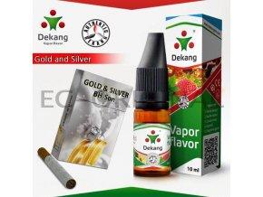 BH-Son / Gold and Silver - E-liquid náplň DEKANG Silver 10ml