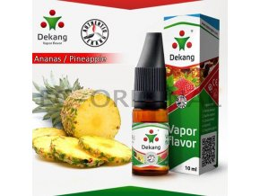 Ananas / Pineapple - E-liquid náplň DEKANG Silver 10ml