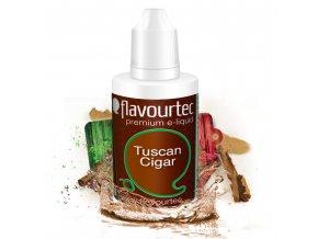Tuscan Cigarre (Tabák) - Flavourtec 50ml náplň do e-cigarety