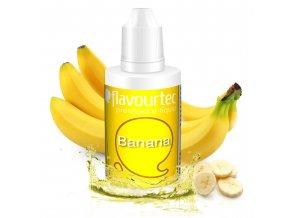 Banán (Banana) - Flavourtec 50ml náplň do e-cigarety
