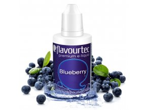 Borůvka (Blueberry) - Flavourtec 50ml náplň do e-cigarety