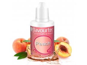 Broskev (Peach) - Flavourtec 50ml náplň do e-cigarety