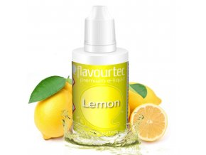 Citrón (Lemon) - Flavourtec 50ml náplň do e-cigarety