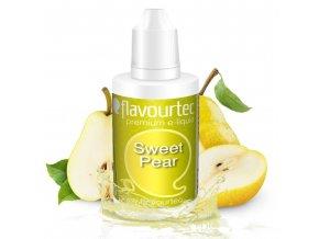 Hruška (Sweet Pear) - Flavourtec 50ml náplň do e-cigarety