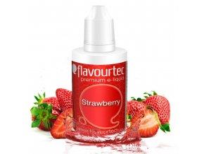 Jahoda (Strawberry) - Flavourtec 50ml náplň do e-cigarety