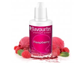 Malina (Raspberry) - Flavourtec 50ml náplň do e-cigarety