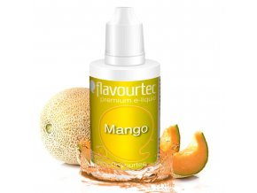 Meloun Kantalup (Melon) - Flavourtec 50ml náplň do e-cigarety