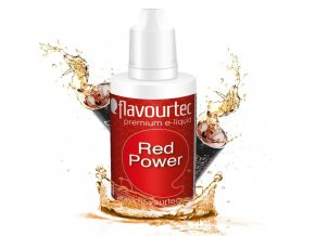 Energy drink (Red Power) - Flavourtec 50ml náplň do e-cigarety
