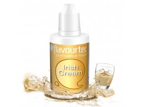 Irish Cream (Irský likér) - Flavourtec 50ml náplň do e-cigarety