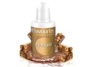 Nugát (Nougat) - Flavourtec 50ml náplň do e-cigarety