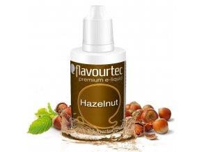 Lískový ořech (Hazelnut) - Flavourtec 50ml náplň do e-cigarety