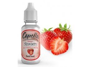 Sladká Jahoda (Sweet Strawberry) - Příchuť Capella Flavors