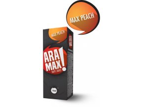 Broskev / Max Peach - Aramax liquid - 10ml