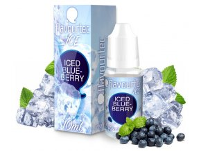 E-liquid Flavourtec ICE - Ledová borůvka (Iced Blueberry)