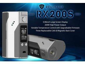 WISMEC Reuleaux RX200S TC 200W + 3KS BATERIE SONY VTC5 2600MAH