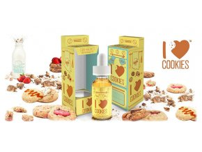 I Love Cookies - prémiový liquid Mad Hatter 30ML
