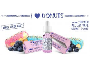 I Love Donuts - prémiový liquid Mad Hatter 30ML