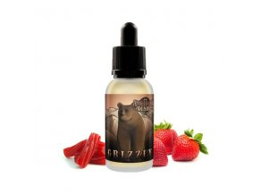 E-LIQUID American Desire - Grizzly (Jahody a lékořice) 30ml