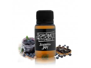 dominate flavors 15ml blueberry jam