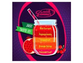 Passion fruit, Orange Syrup, Grapefruit, Pomegranate, Red Currant - příchuť Big Mouth