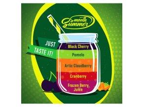 Frozen Berry Juice, Cranberry, Artic Cloudberry, Pomelo, Black Cherry - příchuť Big Mouth