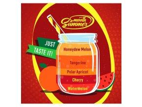 Watermelon, Cherry, Polar Apricot, Tangerine, Honeydew Melon - příchuť Big Mouth