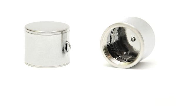 EC-ORIGINAL Ochranné víčko pro eGo baterie Barva: Chromová, Tip: eGo, Materiál: Mosaz