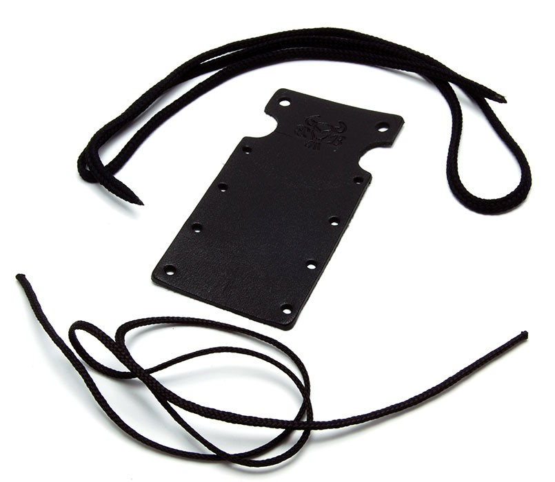 Poutko na krk Black Bull - šněrovací Barva: Černá, Materiál: Kožené