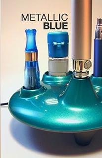 ICO Italy UFO EGO Docking station - Stylový stojánek na eGo cigarety s nabíječkou - USB Barva: Modrá metalíza, Kategorie: Nabíječka USB, Model: USB nabíječka eGo, Vstup: DC 5V 500mA, Výstup: DC 4,2V 420mA