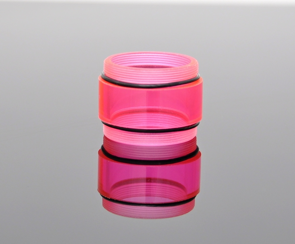 Nádržka - tělo pro kayfun středová krátká Barva: Růžová
