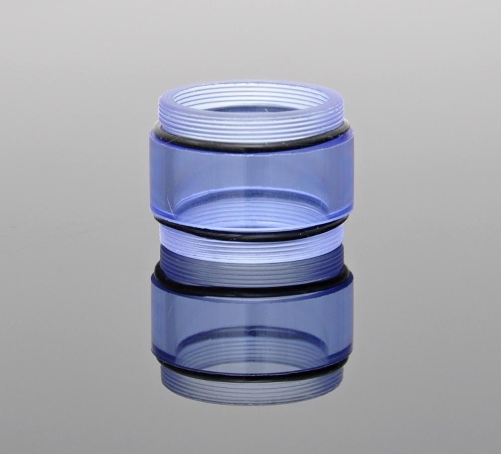 Nádržka - tělo pro kayfun středová krátká Barva: Modrá