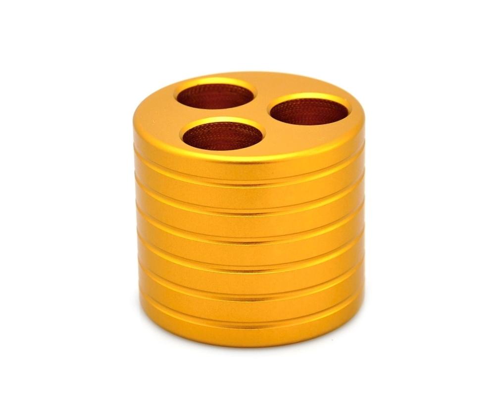 Stojánek na eGo cigarety 2 Barva: Zlatá, Materiál: Hliník