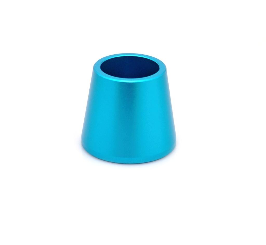 Tobeco Stojánek pro gripy do 24mm Barva: Modrá, Materiál: Hliník