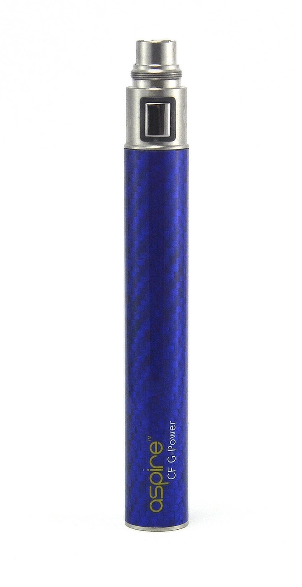 Baterie Aspire CF G-Power 1100mAh Barva: Modrá, Kategorie: Baterie 510/eGo, Napětí baterie: 3,3v - 4,2v, Kapacita Baterie: 1100mAh