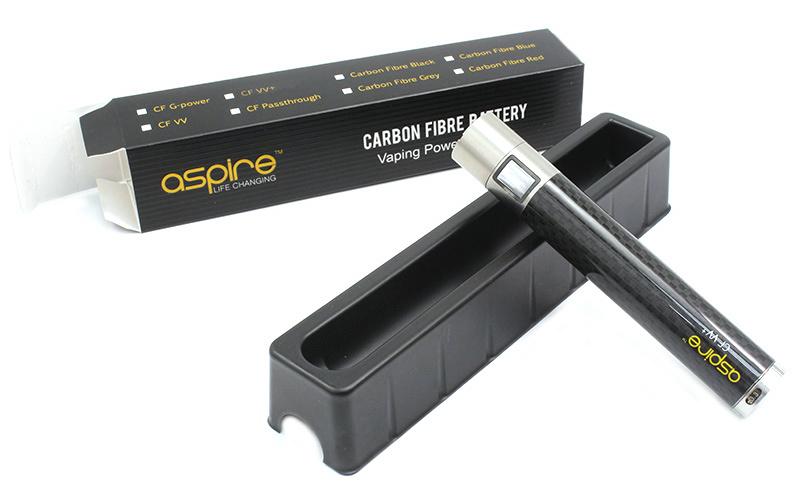 Baterie Aspire CF VV+ 1000mAh Barva: Černá, Kategorie: Baterie 510/eGo, Napětí baterie: VV variabilní napětí 3,3v - 4,8v, Kapacita Baterie: 1000mAh