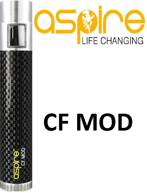 Aspire CF MOD Barva: Černá, Kategorie: Baterie 510/eGo, Napětí baterie: VW variabilní výkon automatický