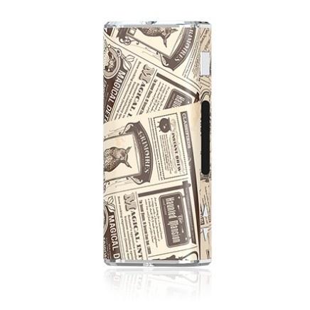Samolepka Eleaf / iSmoka iStick 2200mah - 20W / 30W Barva: Novinový papír