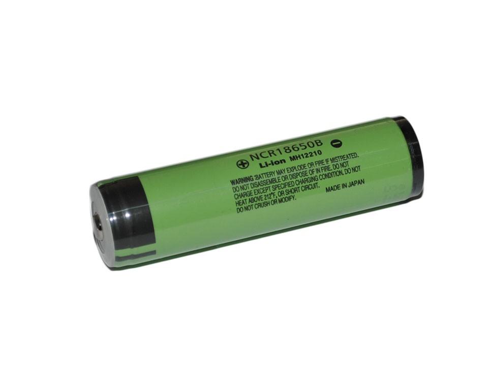 Baterie 18650 Panasonic 3400mAh - s PCB ochranou Kategorie: Baterie Li-ion, Model: Li-ion 18650, Délka: 69,4mm, Průměr: 18,5mm, Napětí: 3,6v, Kapacita Baterie: 3400mAh, Ochrana PCB: Ano