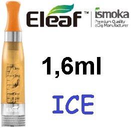 iSmoka / eLeaf eLeaf eGo Clearomizer V3 (ICE) 2,4ohm Barva: Žlutá, Odpor: 2,4ohm, Objem: 1,6ml, Náustek: Žlutý, Tip: eGo, Plnění: Vrchní