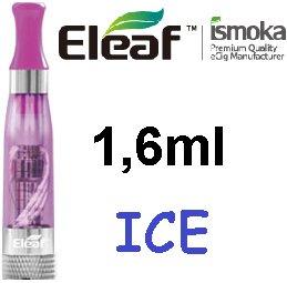 iSmoka / eLeaf eLeaf eGo Clearomizer V3 (ICE) 2,4ohm Barva: Fialová, Odpor: 2,4ohm, Objem: 1,6ml, Náustek: Fialový, Tip: eGo, Plnění: Vrchní